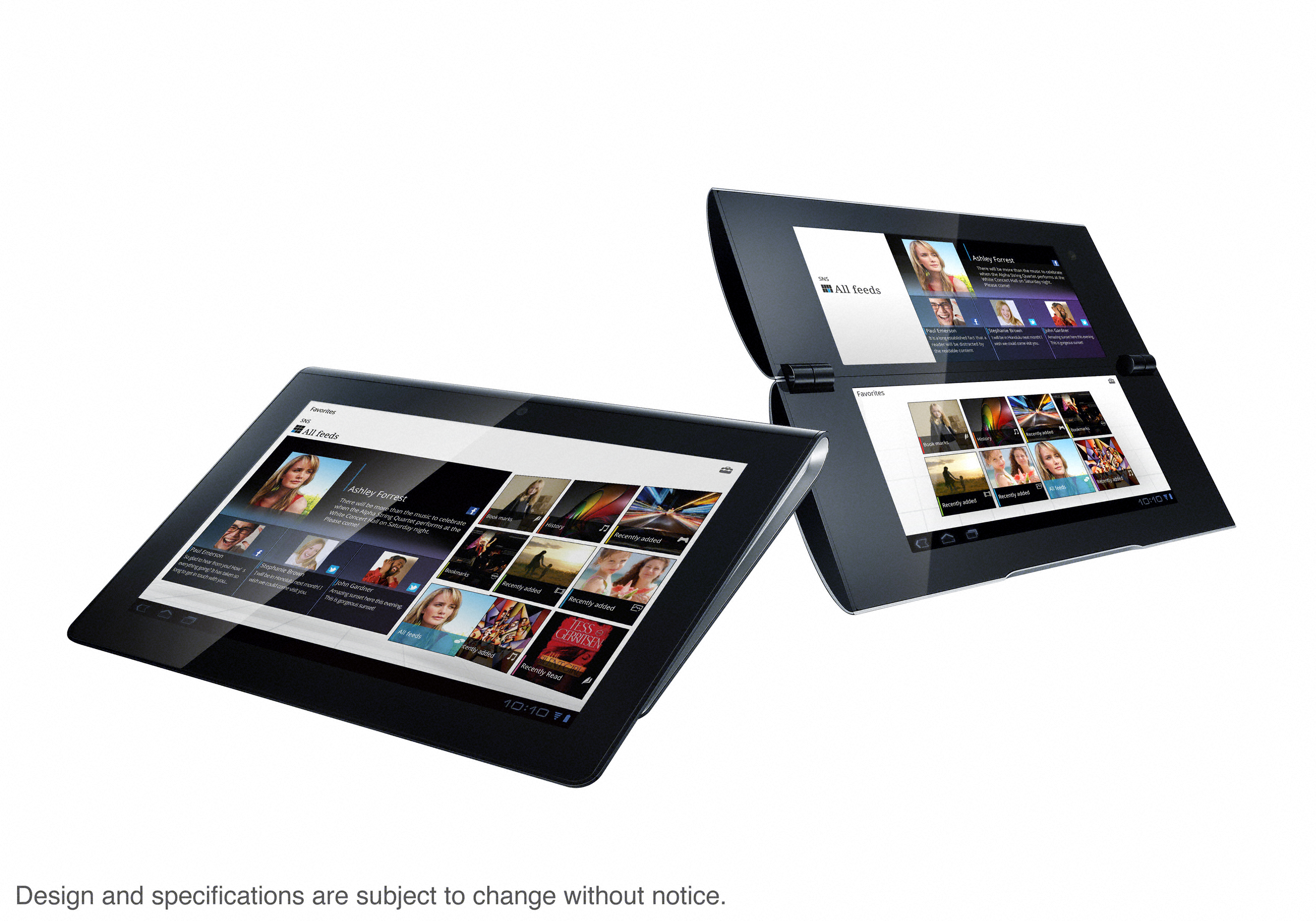 Tablet P и Tablet S