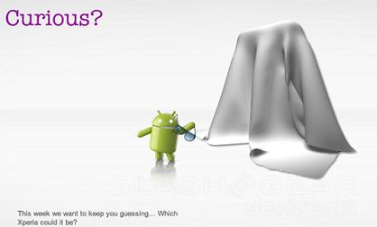 Загадочный девайс от Sony Ericsson
